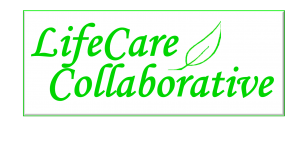 Life Care Collaborative logo full white