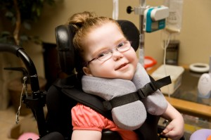 website photo girl with Down's syndrome